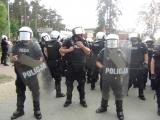 Policyjne manewry w Potulicach